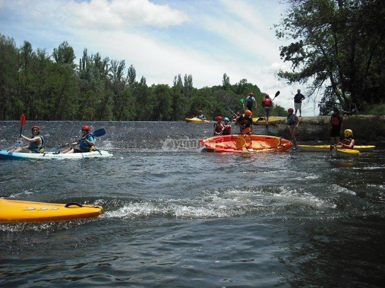 Kayaking in Águeda