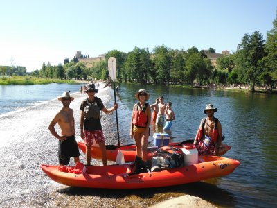 Kayaking + bivouac, 2 days, Salamanca, 2 days
