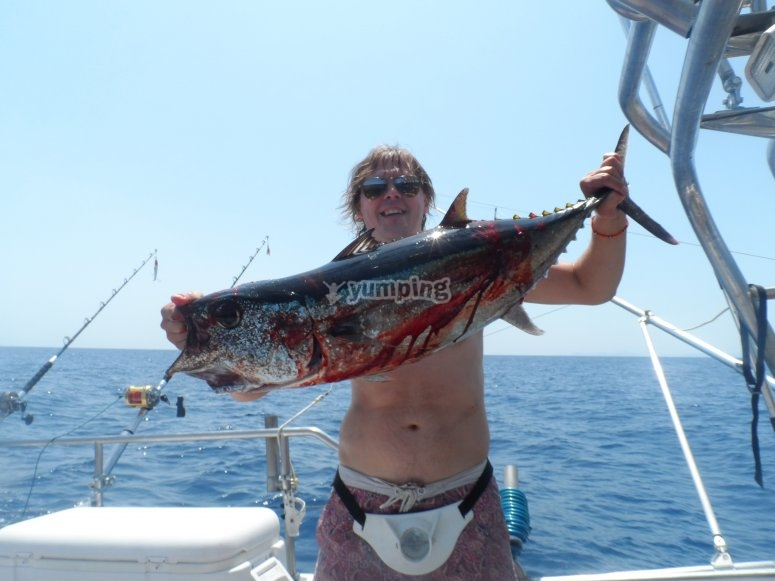 Un gran pescado