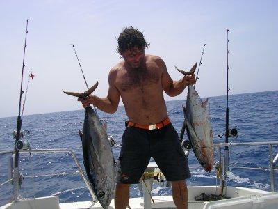 Pesca de altura en El Arenal, una jornada