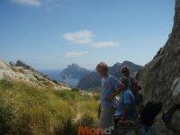 La familia al completo en Mallorca