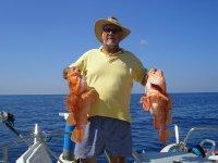 Pesca curricán ligero, El Arenal, una jornada