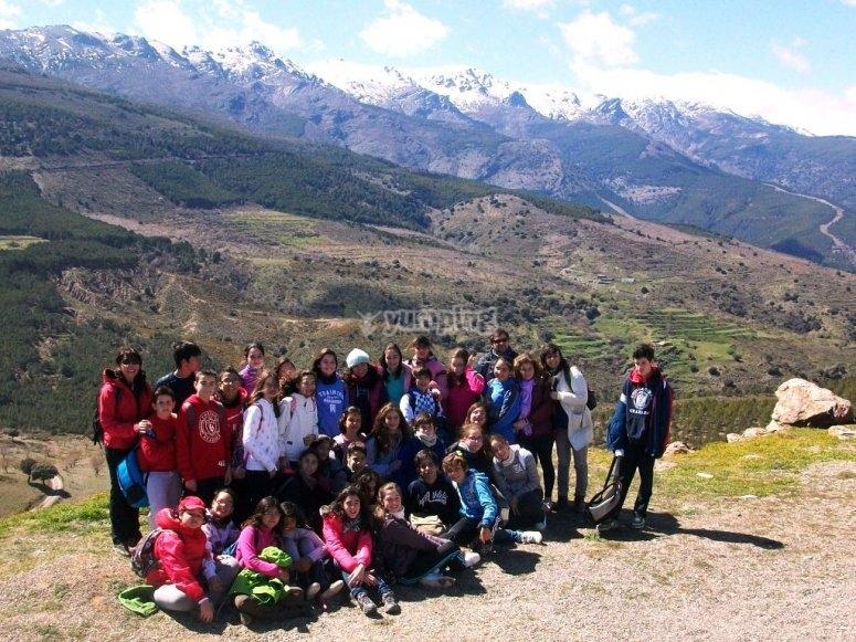 grupo campamento
