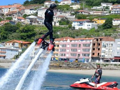 Sesión de flyboard en Moaña, 20 minutos