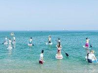 Clase de Paddle Surf de 1 hora en Málaga