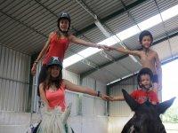 Campamento equitación interno Novallas una semana