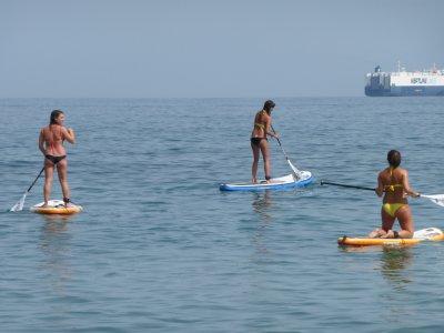 Ruta de paddle surf Malagueta - Baños del Carmen