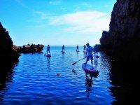 Ruta guiada de paddle surf en Pollença