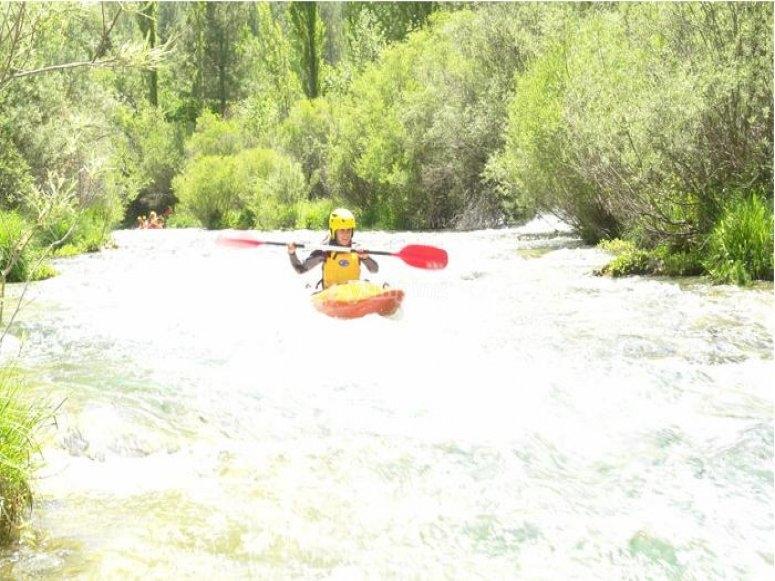 Crossing Cuervo River