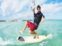 Practica kitesurf en Fuerteventura