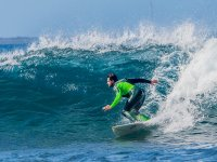 Surf con neopreno verde