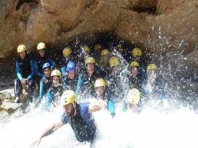 Rafting in the tranche of Chorreras