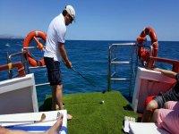 Mini golf biodegradabile