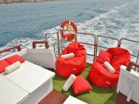 Poltrone sulla barca