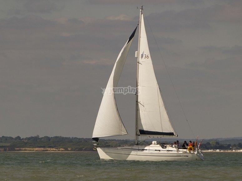 barche a vela sull'isola di Minorca