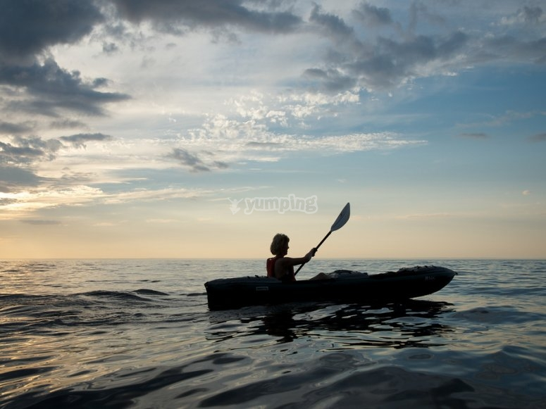 Kayak excursion