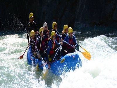 Discesa di rafting a Murillo de Gállego 4h
