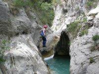 Salto al barranco de Mela