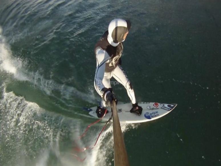 adrenalina en el surf