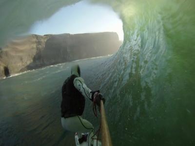 Despedida con surf en Zarautz, king SUP y cervezas