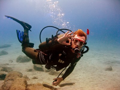 Discover Suba Diving on the beach of Torrox