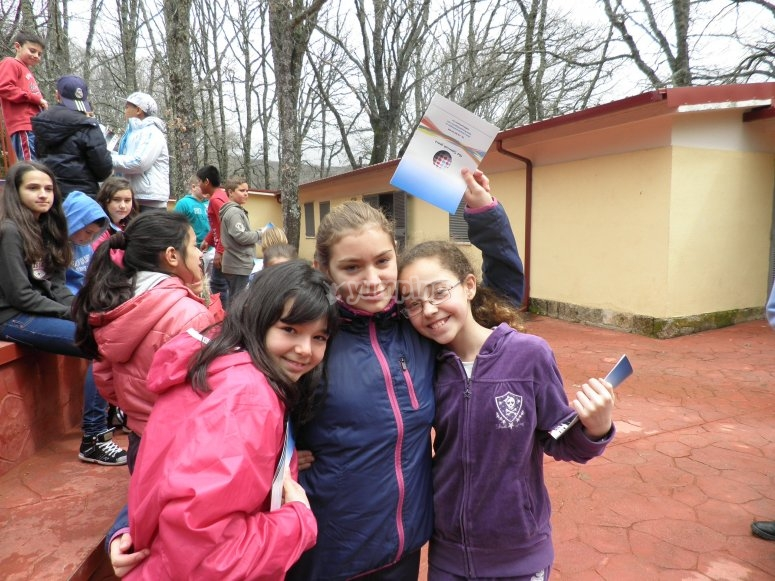 Campamento de inglés