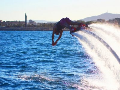 Flyboarding, 30 minutes to choose, Barcelona
