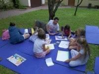 Creatividad en el campamento
