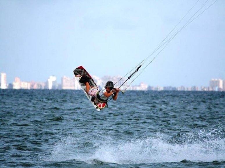 Kitesurf technique
