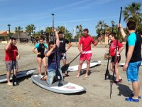 Stand up paddle surfing instructor