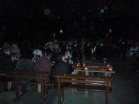 Cenando en la abadia