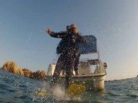 bautizo entrada al agua