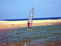 Windsurfing learning beaches