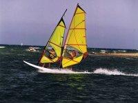 Windsurfing tandem