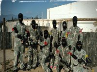 Equipo paintball Conil