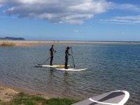 Iniciación en el paddle Surf