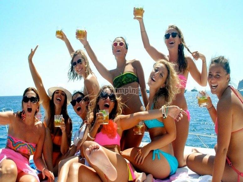 Celebracion a bordo