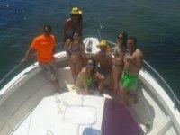 Paseo en barco en el Cantabrico