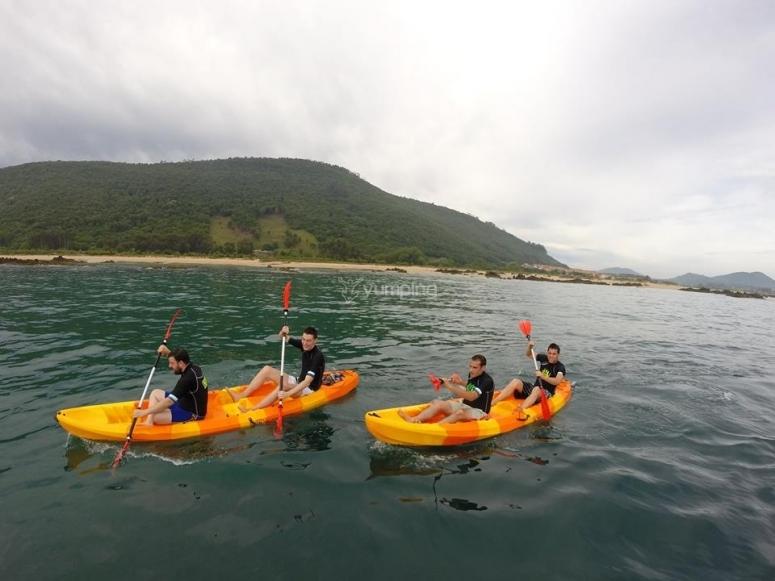 alquiler kayak en noja