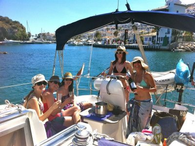 Excursión en velero + actividades, 3 h, Almuñecar