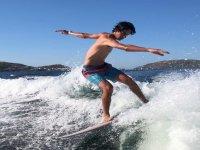 Movimientos nuevos sobre la tabla de surf