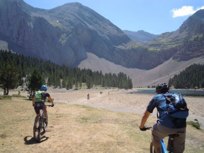 MTB excursion, half a day, Pyrenees