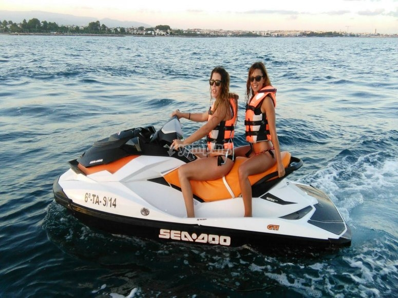 Cambrils jet skis