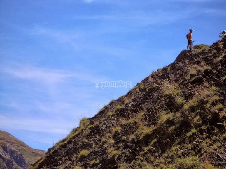 disfrutando ruta pirineos