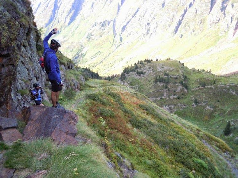 pirineos ruta btt