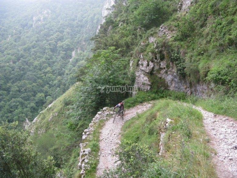 btt ruta asturias