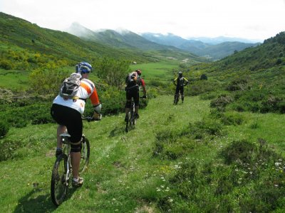 BTT route in Asturias
