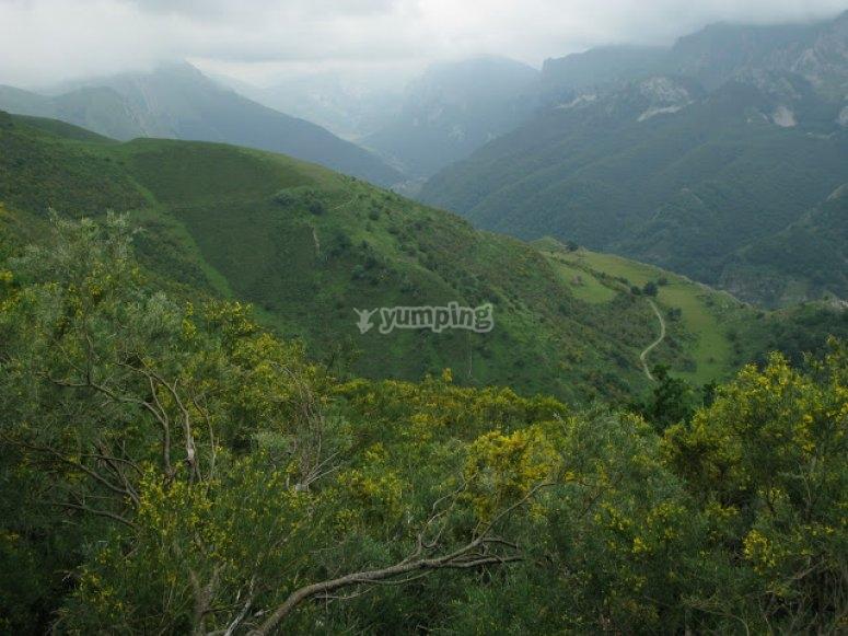 ruta btt asturias