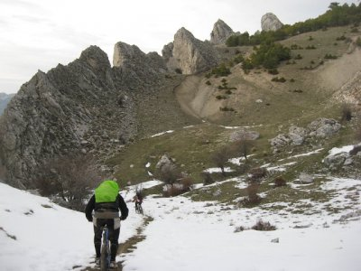 Ruta BTT medio día, Sierra Segura