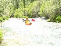passing rapids